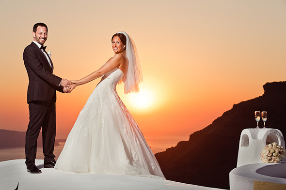 Swanky Destination Wedding in Greece - The Destination ...