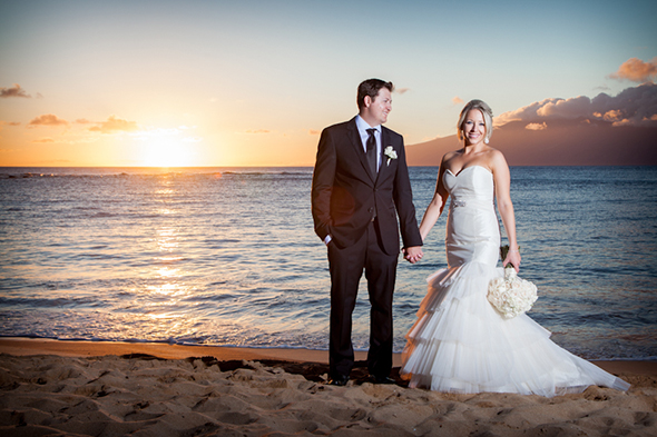 beach wedding hawaii An Intimate Destination Wedding in Maui, Hawaii