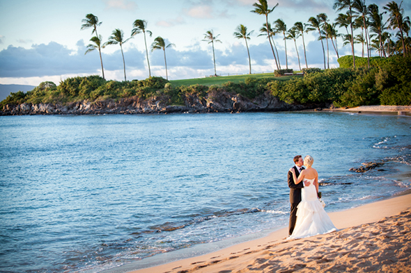 beach weddings1 An Intimate Destination Wedding in Maui, Hawaii