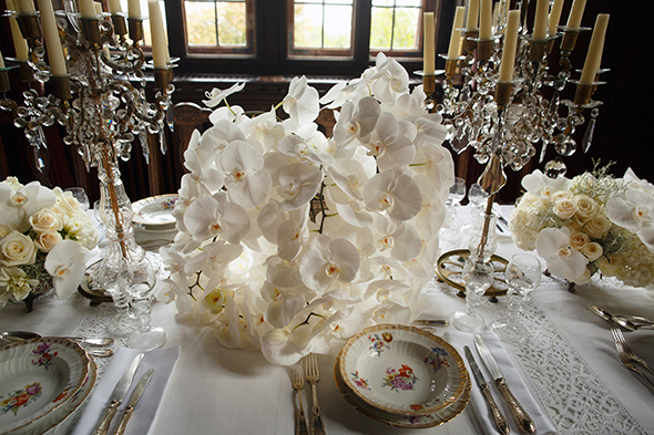 European Destination Wedding Orchid Ideas White Decor Weddings