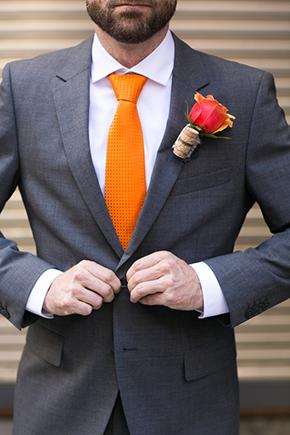 Orange Wedding Fashion