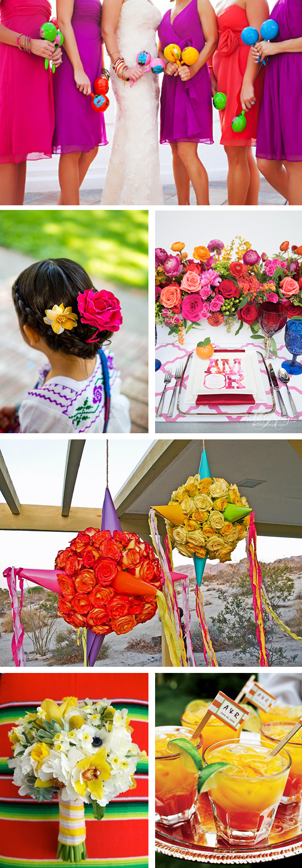 Cinco De Mayo Themed Wedding