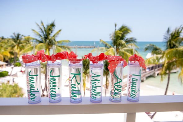 Beach Wedding Party Gifts