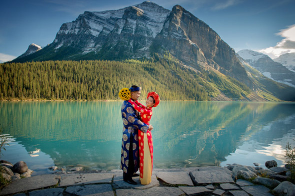 Canada Wedding Welcome Gifts Groomsmen Attire Destination In Alberta Lakefront Venues