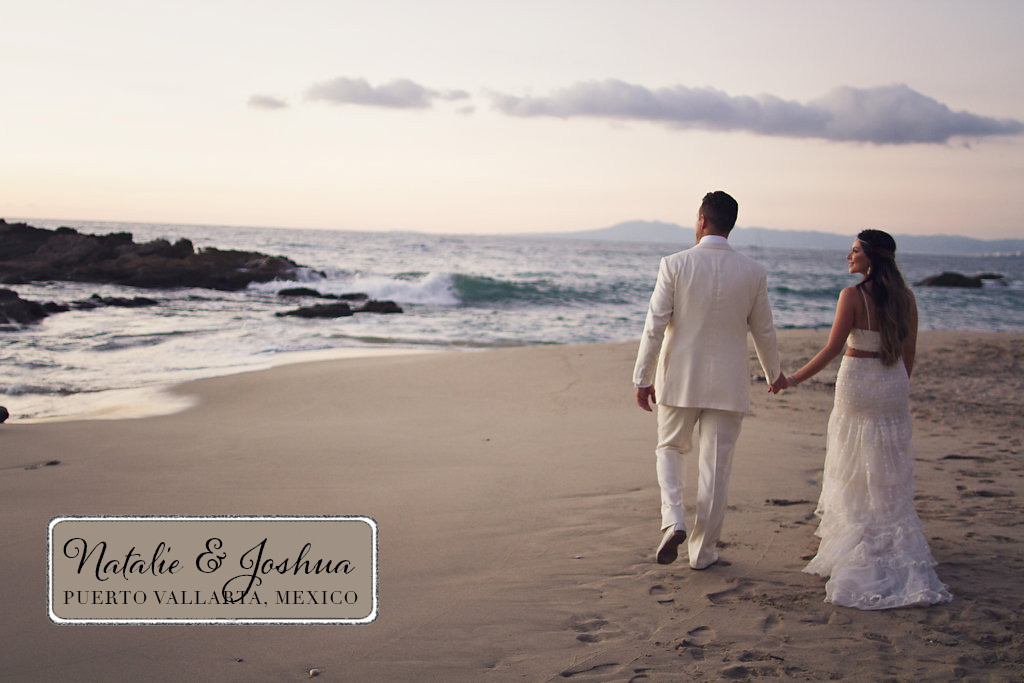 Blue Beautiful Beach Wedding In Mexico