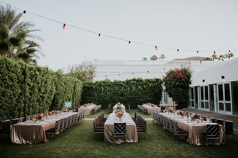 Outdoor Wedding Locations Palm Springs