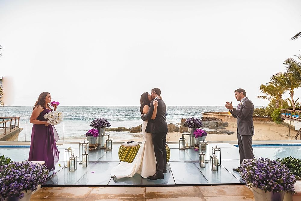 Pretty In Purple Destination Wedding